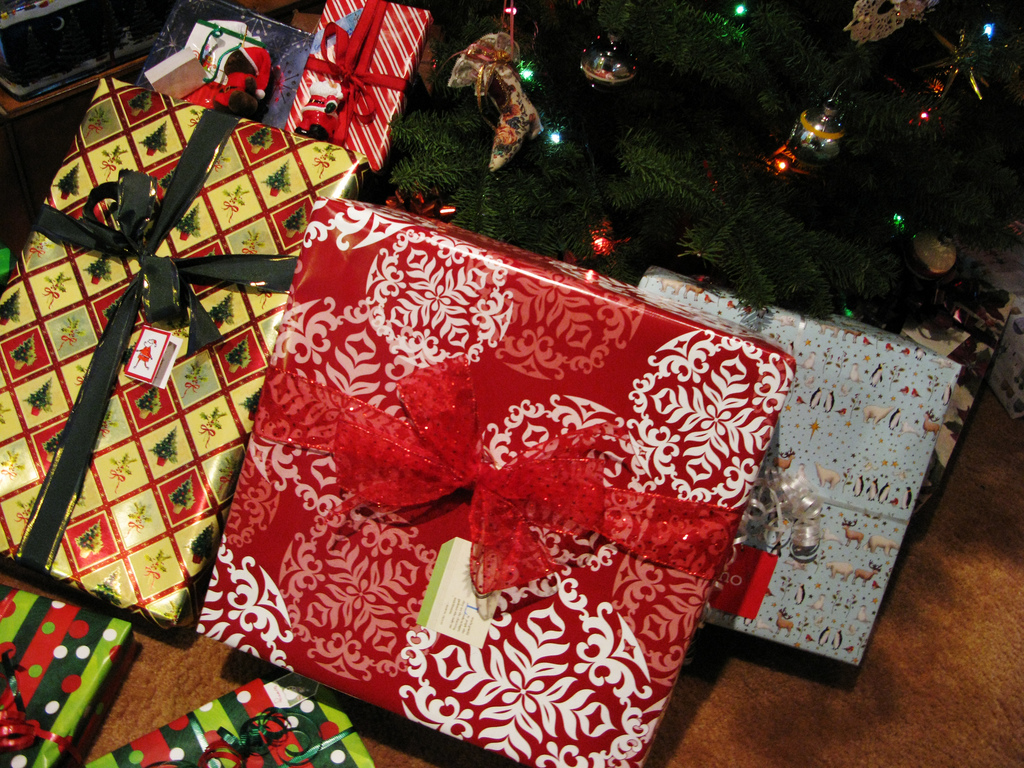 christmas presents photo