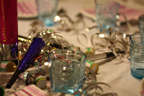 new year party decorations photo
