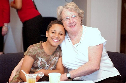 sandwich generation caring for parents photo