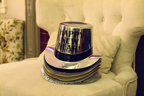 new year party hats photo