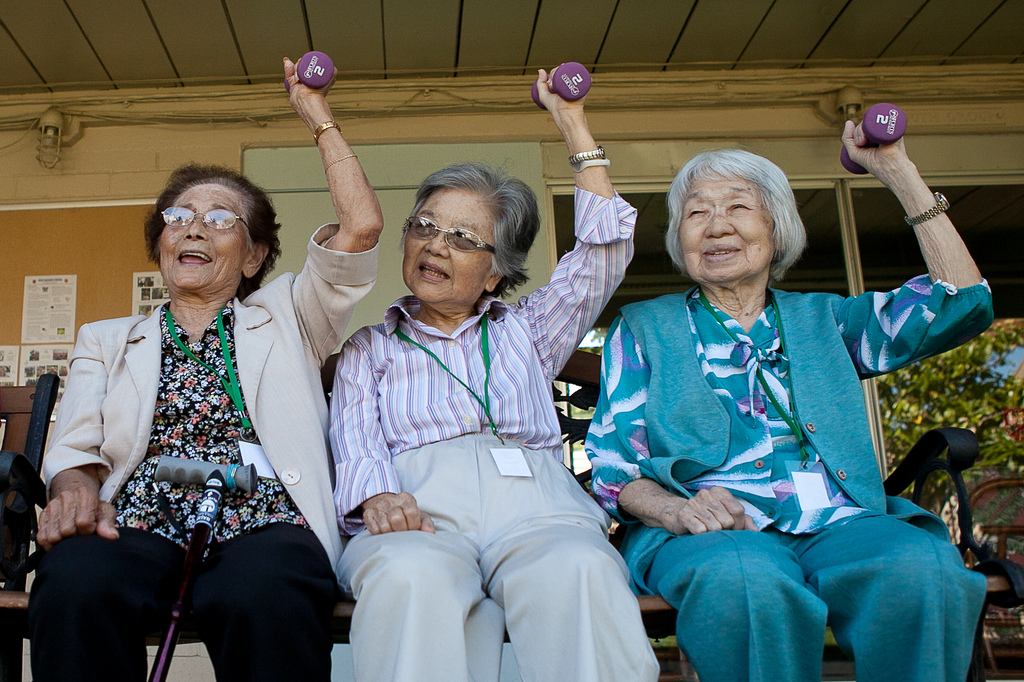 San Gabriel Valley Seniors Get Moving For American Heart Month