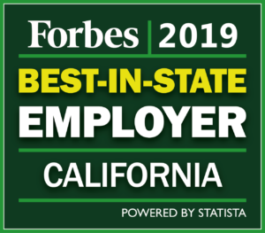 2019 Forbes Best-In-State Employer Award Winner