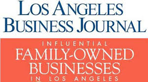 LA Business Journal Influential Family-Owned Businesses Badge