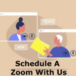 Schedule a zoom meeting