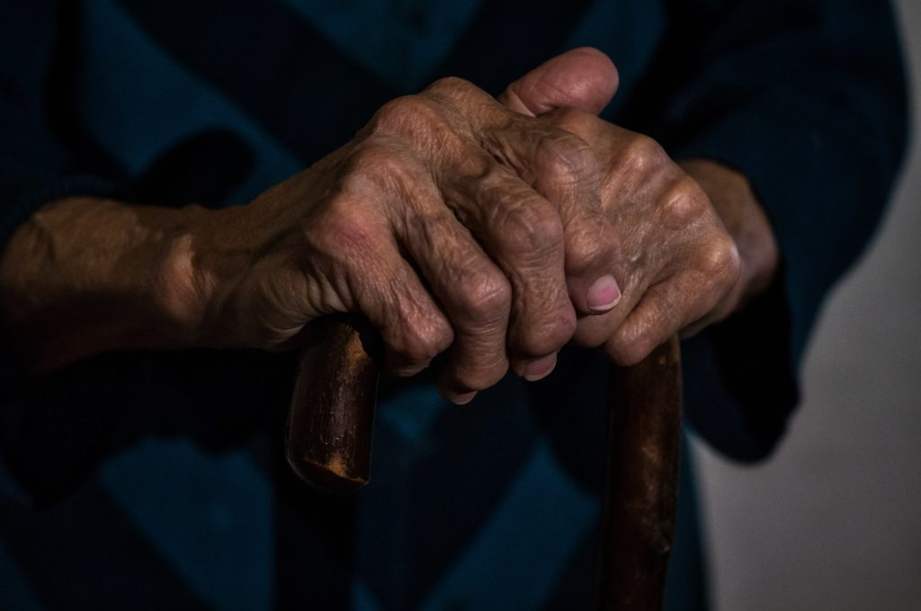 hands, old, age